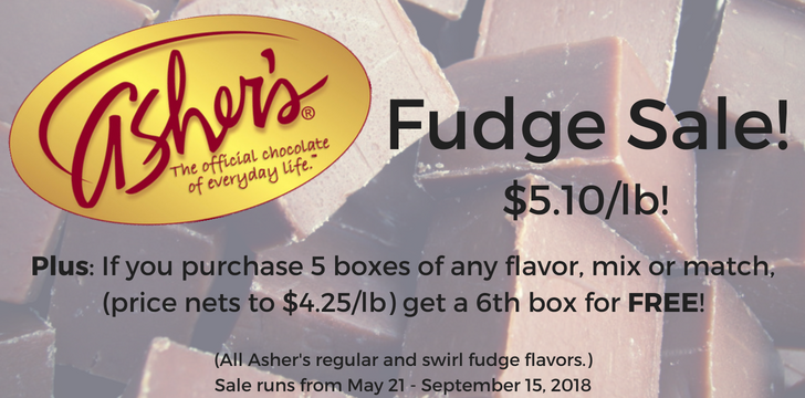 ASHER FUDGE SPECIAL