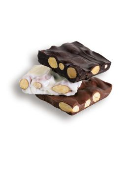 Asher Milk Chocolate Almond Bark 6lb