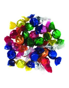 Hillside Sweets Made with Sugar Hard Candy Assorted Fruit Flashers 5lb
