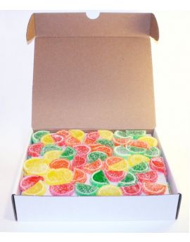Boston Mini Assorted Fruit Slices Unwrapped 5lb