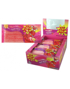 Dorval Strawberry Sour Belts 24ct