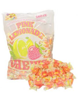 Alberts Fruit Chews Pink Lemonade 240ct
