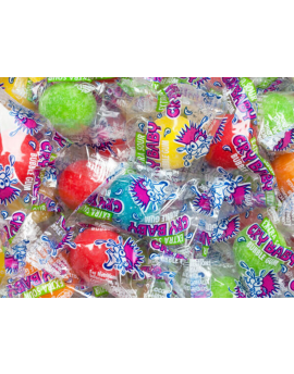 Concord Bulk Cry Baby Gumballs Wrapped 850ct 11lb