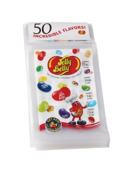 Jelly Belly Zip Tear Off Bags 1000ct