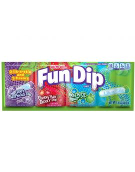 Wonka Lik-M-Aid Fun Dip Large 24ct