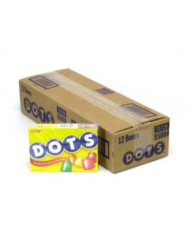 Tootsie Dots 7.5oz Theater Box 12ct