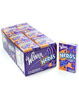 Wonka Nerds Peach Wildberry 24ct