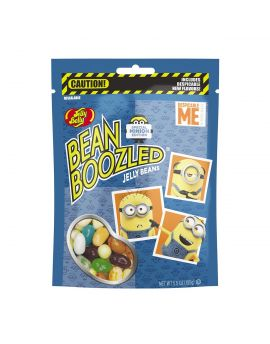 Jelly Belly BeanBoozled Minion Edition 5.5 oz Pouch Bag 12ct