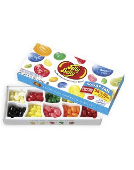 Jelly Belly Sugar Free 10 Flavor Gift Box 4.25oz 12ct