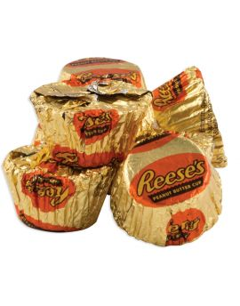 Hershey Mini Reese Peanut Butter Cups Wrapped 25lb