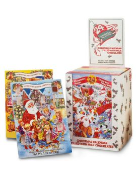 Alberts Advent Calendar Display 1.76oz 24ct
