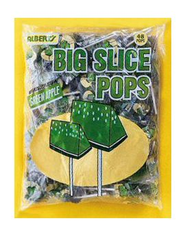Alberts Big Slice Pop Apple 48ct