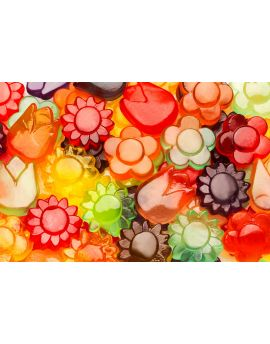 Awesome Blossoms Gummy Flowers Candy 5lb