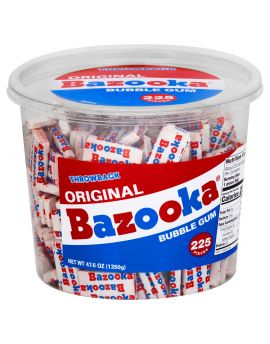 Topps Bazooka Original Tub 225ct Tub