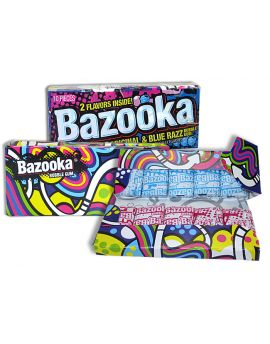 Topps Bazooka Bubble Gum Wallet Pack 12ct