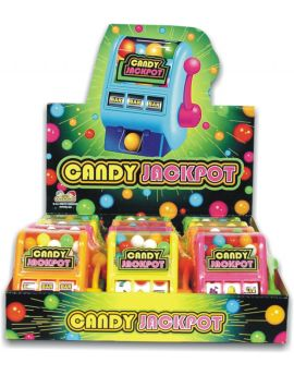 Kidsmania Slot Machine Candy Jackpot Dispensers 12ct