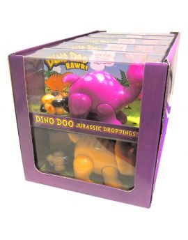 Kidsmania Dino Doo Pooping Dinosaur Jelly Bean Candy Dispenser 10ct