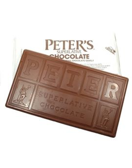 (not available, eta May) Peter's Chatham Milk Chocolate 140 viscosity 50lb