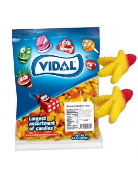 Vidal Gummi Chicken Feet 4.4 lb