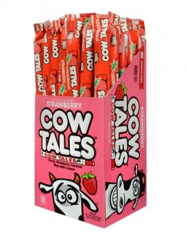 Goetze Strawberry Creme Caramel Cow Tales 36ct