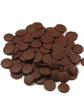 Wilbur S856 Dark Cocoa Confectionary Coating Wafer 50lb