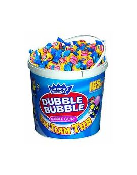 Dubble Bubble Team Tub 165ct