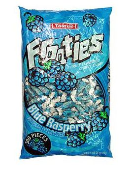 Tootsie Frooties Blue Raspberry 360ct