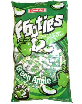Tootsie Frooties Green Apple 360ct