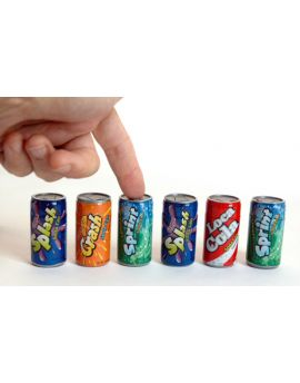 Kidsmania Soda Pop Fizzy Candy 6 count Pack 12ct