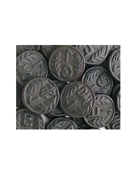 Verburg Licorice Coins 2.2lb 3ct