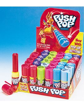 Topps Push Pop Fruit Frenzy 24ct