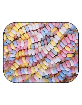 Smarties Candy Necklace Unwrapped 100ct