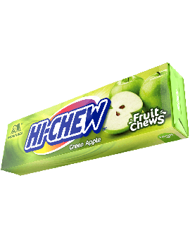 Hi-Chew Fruit Chews Green Apple 10pc Pack 15ct