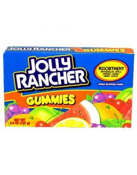 Hershey Jolly Rancher Gummies Theater Box 4.5oz 12ct