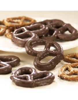 Asher Milk Chocolate Smothered Pretzels 7lb Box *Fragile Item*