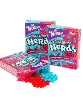 Wonka Nerds Surf & Turf Tropical Punch Raspberry 24ct
