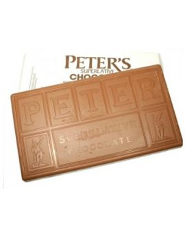 (NOT AVAILABLE BY MANUFACTURER)  Peters Ultra Milk Chocolate 125 Viscosity  1800lbs TOTE