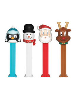 Pez Candy Dispenser Christmas Winter Assortment 12ct