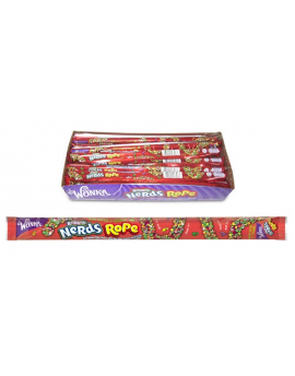 Wonka Rainbow Nerds Rope 24ct