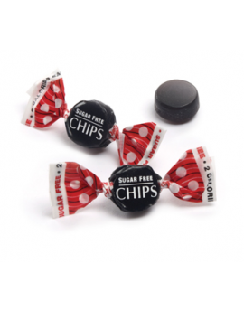 Checkmates Chips Sugar Free Licorice 1# Bag