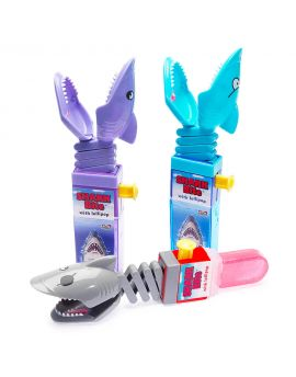 Kidsmania Shark Bite Candy Toy  Lollipops 12ct
