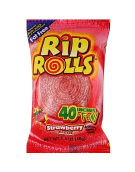 Foreign Rip Roll Strawberry 24ct