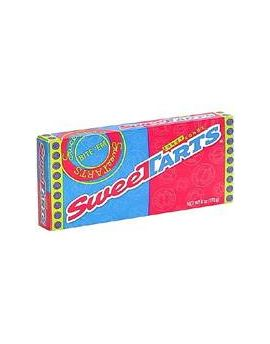 Wonka SweeTarts 5oz Theater Box 10ct