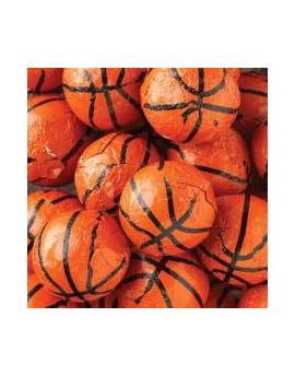 Thompson Chocolate Foiled Basketballs 10lbs