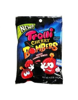 Trolli Cherry Bombers 4.25oz Bag 12ct