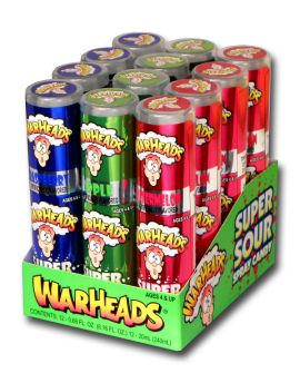 Warheads Super Sour Spray Candy 12ct