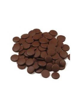 Wilbur #37 Darkcoat Dark Cocoa Confectionary Wafers 135 Viscosity 50lb
