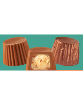 Asher Foiled Milk Maple and Bacon Mini Cups 7lb