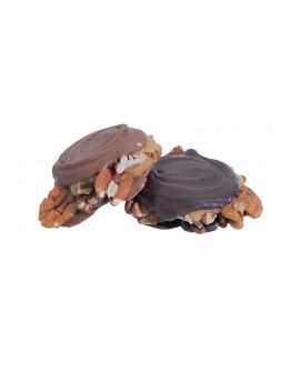 Asher Pecan Paws Dark Chocolate 4lb