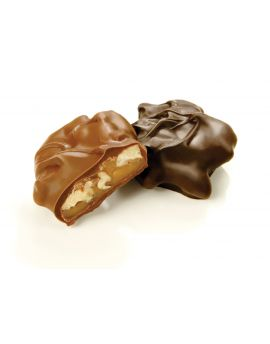 Asher Milk Chocolate Pecan Caramel Pattie 5lb
